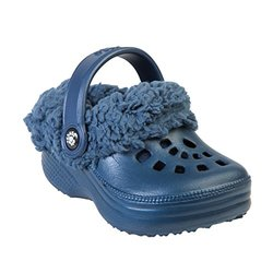 Dawgs Toddler's Fleecedawgs Clogs - Navy - Size: 6M