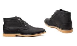 Vincent Cavallo Men's Chukka Boots - Black - Size: 9