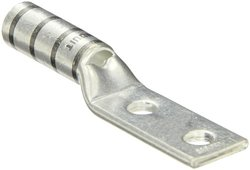 "Panduit Two Hole 1-9/16"" Wire Strip 0.85"" Tongue Code Conductor Lug"