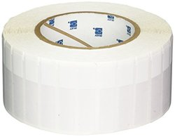 Brady THT-127-427-3 Self-Laminating Vinyl Thermal Transfer Printable Labels , White/Translucent (3,000 Labels per Roll, 1 Roll per Package)