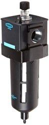"""Dixon L28-06A Wilkerson EconOmist Standard Lubricator with Transparent Bowl, 3/4"""" Size, 200 SCFM Flow, 150 psig Pressure"""
