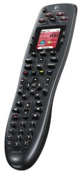 Logitech Harmony 700 Rechargeable Remote with Color Screen (Black)