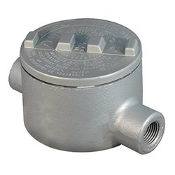 "Appleton GRC50 Conduit Outlet Box, Hazardous Location, Iron, 10 Hub Arrangements, 1/2"" Hub"