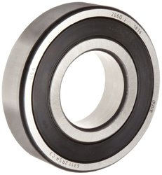 FAG 1-Row 2-Sealed Steel Cage Deep Groove Ball Bearing (6301-2RSR-C3)