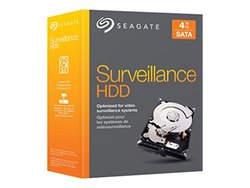 "Seagate 4TB NAS HDD SATA 6Gb/s NCQ 64MB Cache 3.5"" Internal Bare Drive Retail Kit (STBD4000100)"