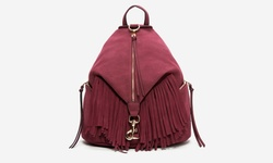 Sociology Suede Fringe Mini Backpack - Port