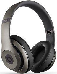 Beats by Dr. Dre 2.0 Over Ear Headphones w/ Mic - Titanium (MHAK2AM/A)