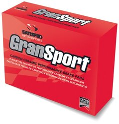 Satisfied GranSport Carbon Ceramic Disc Brake Pads (PR542)