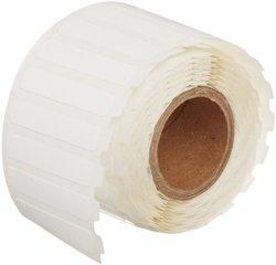 Brady CL-117-499 Nylon Cloth I.D. Pro Plus,  Ls2000 & Bradymarker xc Plus Printer Labels , White (500 Labels per Roll, 1 Roll per Package)