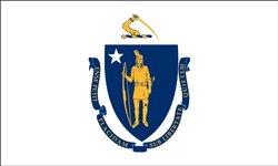 Heath Outdoor 35022 3-Feet by 5-Feet Massachusetts Flag
