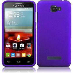 Alcatel One Touch Fierce 2 Hard Cover Case - Purple - (7040T)