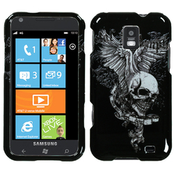 Samsung Durable Protective Cover for Focus S I937 - Skull Wing