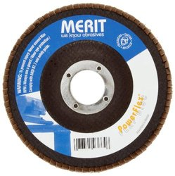 Merit Powerflex Contoured Abrasive Flap Disc Type 29 (Pack of 10)