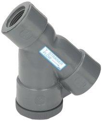 Hayward YS10075T 3/4-Inch Threaded PVC Y-Strainer with FPM O-ring Seals