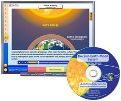 NewPath Learning The Sun-Earth-Moon System Multimedia Lesson, Site License/Single Building, Grade 6-10