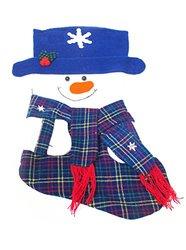 WeGlow International Snowman Stocking (Pack of 2), Blue