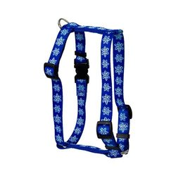 Yellow Dog Design H-SNF103L Snowflake Roman H Harness - Large