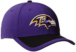 NFL Baltimore Ravens 2015 Reverse 39Thirty Stretch Fit Cap, Small/Medium, Purple