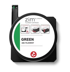 Zeepro ABS Plastic Filament Cartridge, 1.75mm Diameter, 250g, Green
