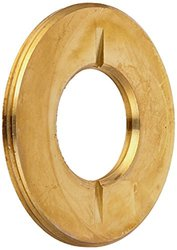 Hubbell-Raco 6206 2-1/8-Inch OD Ring, Cap, Flush for 3/4-Inch Plug, Brass