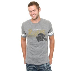NFL Baltimore Ravens Throwback Stripe T-Shirt - Size: Small