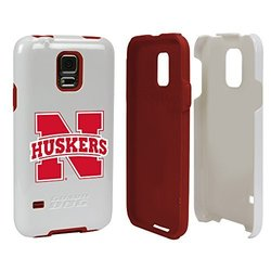 Nebraska Cornhuskers - Hybrid Case for Samsung Galaxy S5 - White