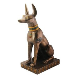 Summit Egyptian Anubis Collectible Figurine - Bronze