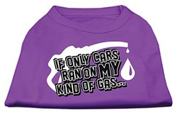 My Kind of Gas Screen Print Shirts Purple XXXL(20)