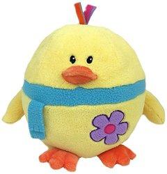 "GabiToy 11"" Round Easter Friend Chick Yellow Plush Toy - Multi"