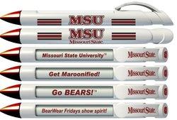Greeting Pen Missouri State University Braggin' Rights 6 Pen Set (20566)