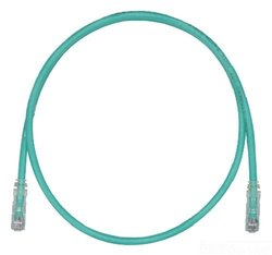 Panduit 14-Feet Category-6 8-Conductor Clear Boot Patch Cord - Green