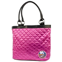 Little Earth Womne's NHL New York Islanders Quilted Tote - Pink