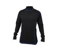 K1 Race Gear Premier Slim Fit Safety X Nomex Under Garment Shirt (Black, 4X-Small)