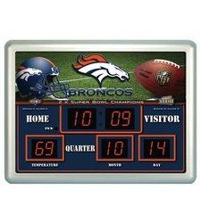 Team Sports America NFL Scoreboard Wall Clock
