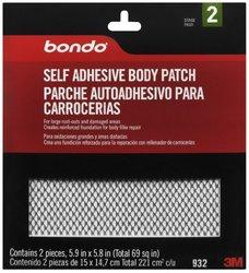 3M Bondo Self Adhesive Body Repair Patch (932)
