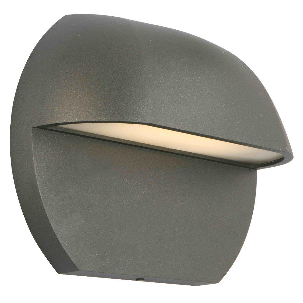 Hampton Bay Low Voltage Black Outdoor Led Surface Mount Light Check Back Soon
