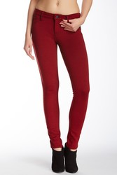 Genetic Women's Shane Faux Front Pocket Skinny Pants - Lips - Size: 25