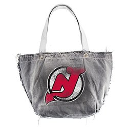 NHL New Jersey Devils Vintage Tote, Black