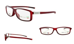 TAG Heuer 0514-009 57mm Unisex Optical Frames - Matte Red