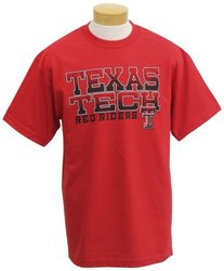 NCAA Texas Tech Red Raiders Men's T-Shirt - Red - Size: Small