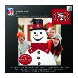 Boelter Brands NFL San Francisco 49ers Snowfan Kit - Black