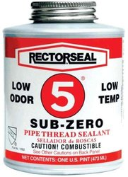 Rectorseal 27460 Quart Brush Top No.5 Sub-Zero Pipe Thread Sealant