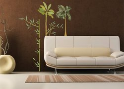 """Art Applique 28"""" x 20"""" Bamboo Wall Decal Sticker"""