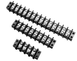 "Burndy 10 Circuits 6-19/32"" Overall Length Terminal Block - Pk of 5"