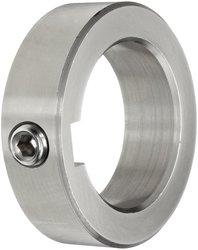 Climax Metal Stainless Steel T303 Set Screw Collar W/ Keyway (C-125-S-KW)