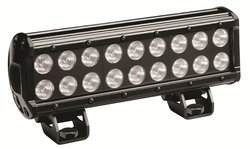 "KC HiLiTES 1306 Black 10"" 54W Rectangular Driving LED Light"