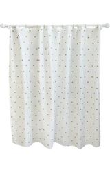 "Pillowfort Metallic Dot Shower Curtain - White - Size: 72""x72"""