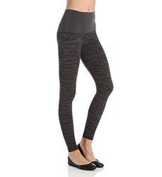 Assets by Sara Blakely Camo Seamless Leggings FL4715 - Grey - Size: XL