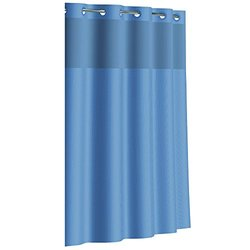 Shwr Curtain Dobby Tx Midngt Blu