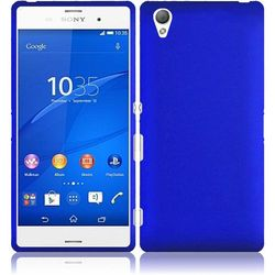 Sony Xperia Z3 T-Mobile Version Rubberized Cover Case - Blue